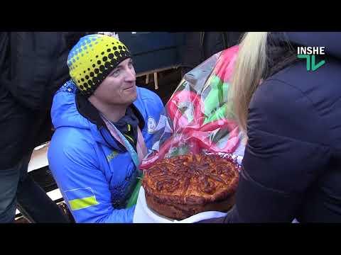 ІншеТВ: Николаевцы тепло встретили победителя Паралимпийских игр лыжника Ярового