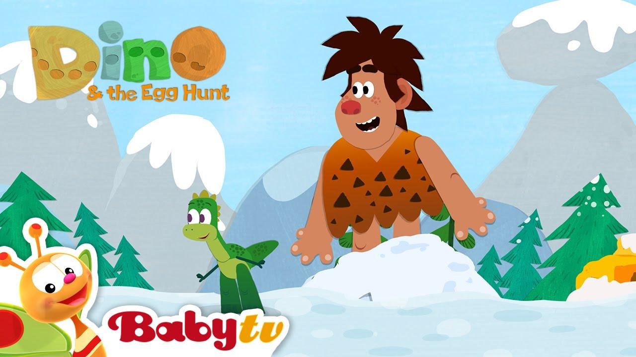 Dino & polowanie na jajka   Rymowanki i piosenki   BabyTV Polski