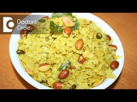 Is poha recommended in diabetics for breakfast? - Dr. Sanjay Phutane