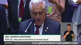 Dep. Odorico Monteiro destaca a inauguração do Campus de Acopiara do IFCE e registra nota de pesar