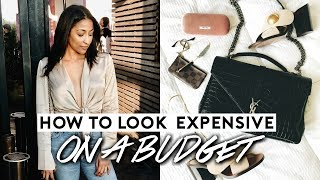 HOW TO LOOK EXPENSIVE ON A BUDGET! 10 MONEY SAVING HACKS!