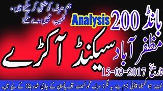 Prize Bond 200 Muzaffarabad Guess paper second Akra   Prize Bond Analyst