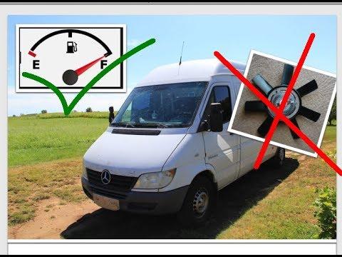 improve fuel economy by removing fan on sprinter/ улучшить экономию топлива, удалив вентилятор