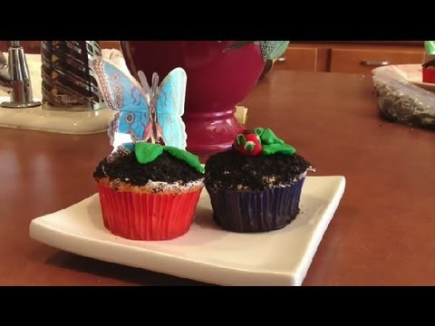 Dirt Cupcakes For Kids : Easy Recipes For Kids & Adults