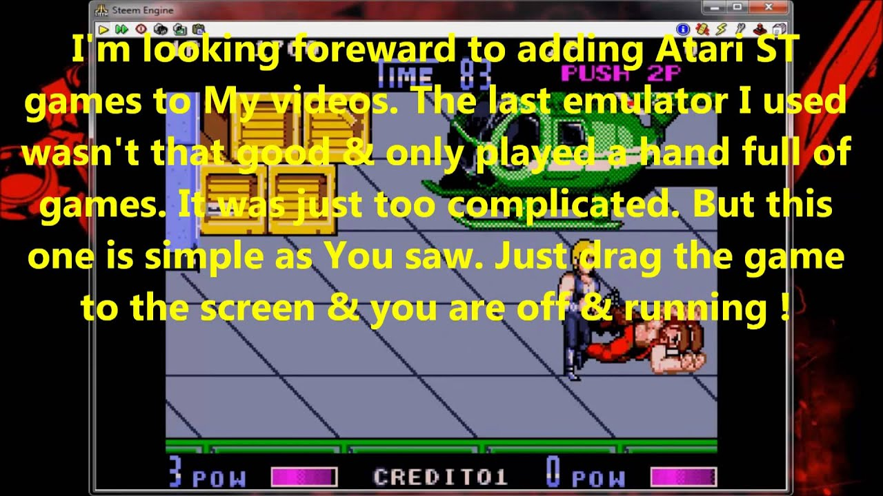 Atari ST Emulation test ( STEem )