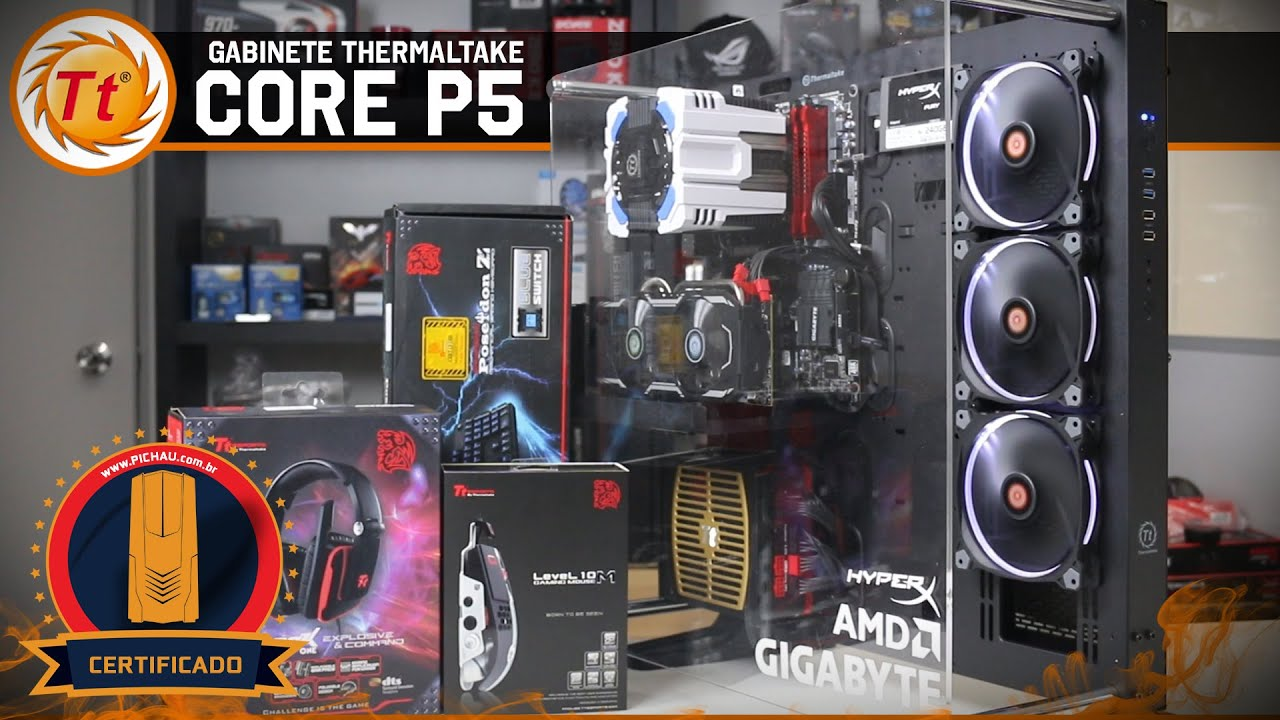 171 Review 187 Gabinete Thermaltake Core P5 Built For Makers