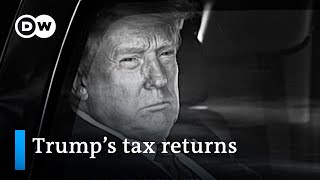 Trump's tax returns: A game changer for the presidential election? | DW News