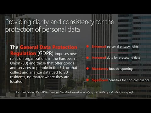 GDPR and Office 365  - BRK2129