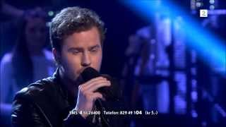 Knut Marius Djupvik - Run (Leona Lewis / Snow Patrol) The Voice Norway 2013 - Finale