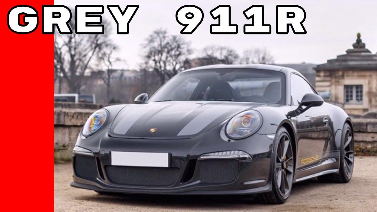 Slate Grey Porsche 911R