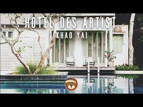 รีวิวที่พักเขาใหญ่ สไตล์ฮิปๆ ราคาหลักพันเท่านั้น!!!ที่ Hotel Des Artists Khao Yai