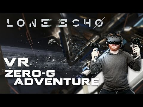 Lone Echo: VR spacewalking gameplay on HTC Vive with Revive