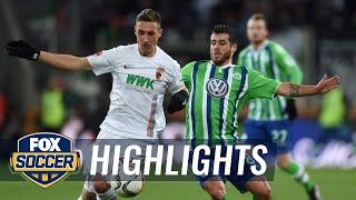 Video Gol Pertandingan FC Augsburg vs Wolfsburg