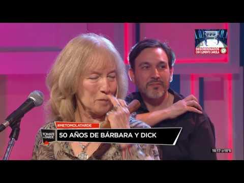 50 años de Bárbara y Dick en Tomate La Tarde