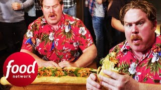 Will This 2.5 ft Banh Mi Be Too Much For Casey? | Man v Food