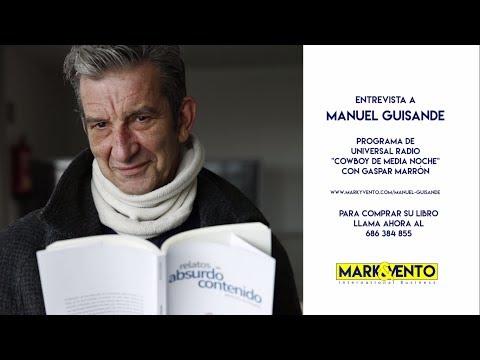 """""""CÓMO SOMOS LOS GALLEGOS"""". Entrevista a MANUEL GUISANDE en Universal Radio"""