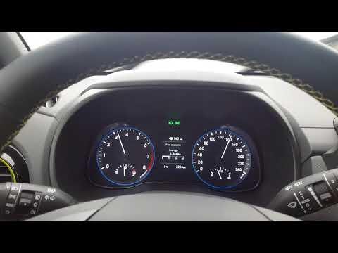 Hyundai Kona 1.0 T-GDi consumption on highway @ 130 km/h