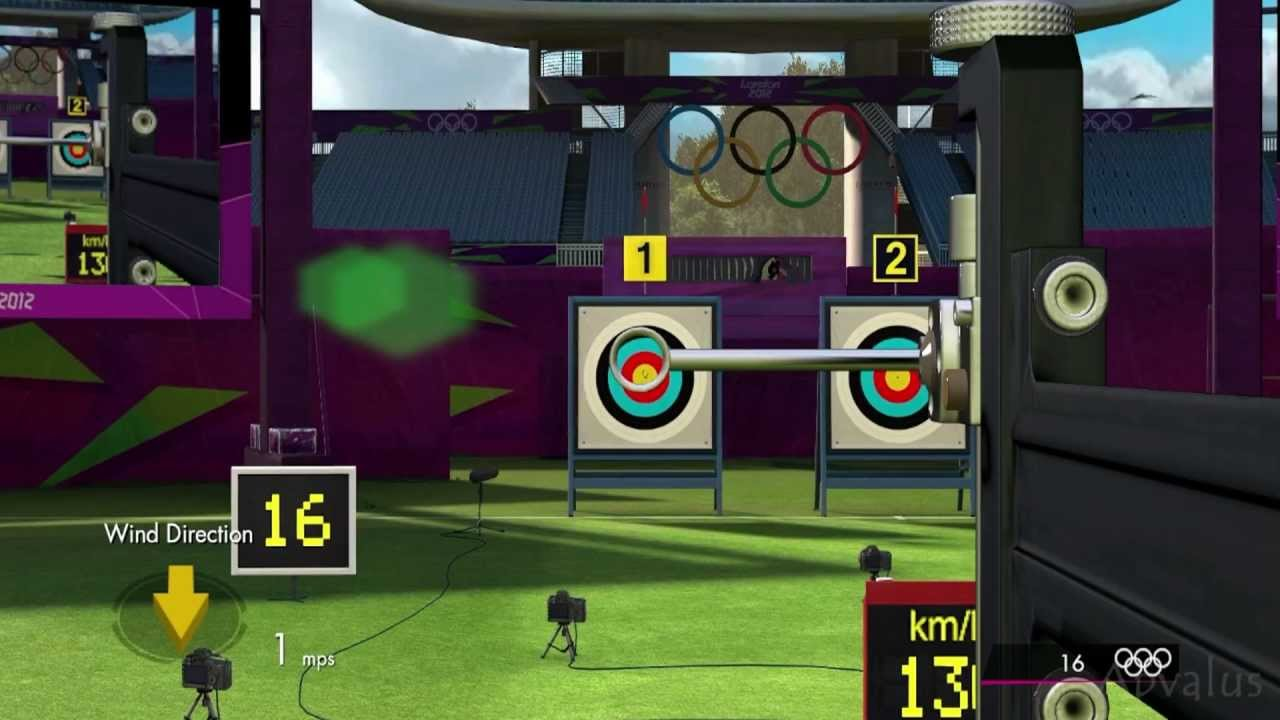 What are some video games that feature archery in gameplay?