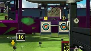 London 2012 The Official Video Game of the Olympic Games Archery Gameplay [ PC HD ]