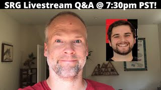 SRG Livestream Q&A w/ @Investing with Tom at 7:30pm PST | Be There!