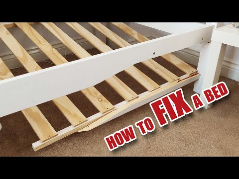 How to FIX a broken bed (part 2 of 2)