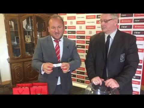 FAW YOUTH CUP QUALIFYING ROUND DRAW 2017-18