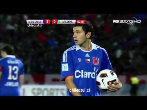 U de Chile-Arsenal 2011 (Pressing y goles)