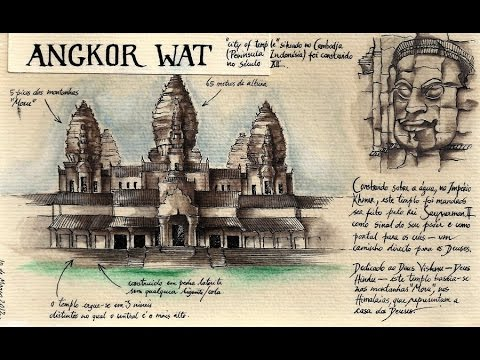 Secrets of Angkor Wat, World's Largest Hindu Temple which is in Combodia