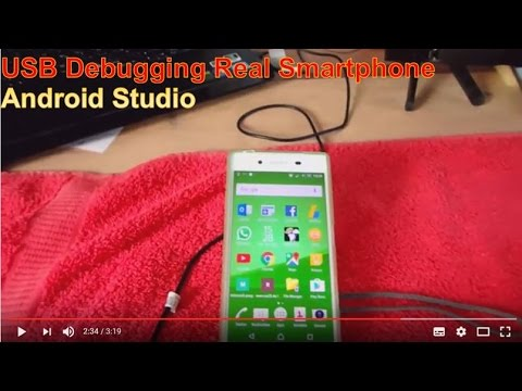 Android Studio #17: Start Android USB Debugging On Real Smartphone With USB Cable