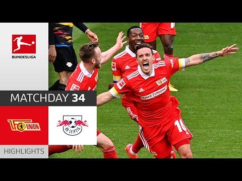 Union Berlin - RB Leipzig   2-1   Highlights   Matchday 34 – Bundesliga 2020/21