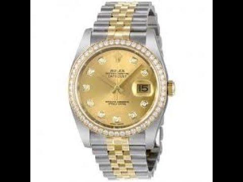 Hàng Khủng Hot Đánh giá Rolex 116243 Datejust 36mm Bezel: gắn kim cương serial 891G3015