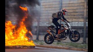 Rok Bagoros - Ride and Slay | KTM Duke 690 | drifts, explosions, fullthrottle