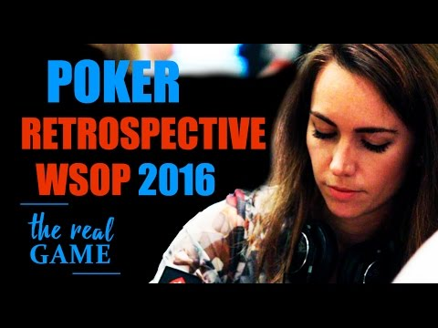 The World Series Of Poker 2016 - The Real Game Retrospective - 동영상