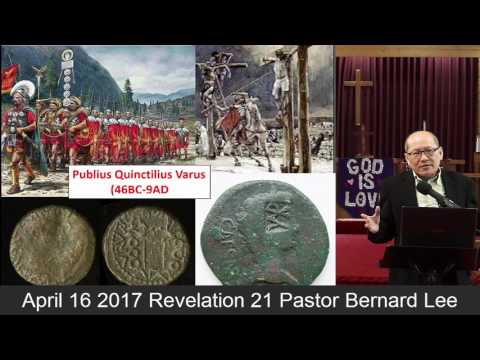 April 16 2017 Revelation 21 Pastor Bernard Lee