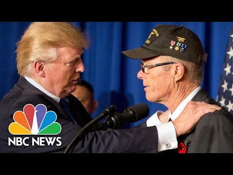 President Donald Trump Hails Vietnam Veterans: 'Tough And Smart Cookies' | NBC News