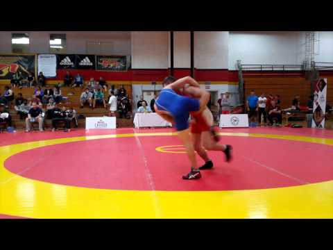 2015 Canada Cup: 61 kg Bronze Jason Buckle (CAN) vs. Jake Hergenhein (CAN)