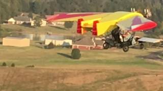 Home Built Ultralight with Model Engines