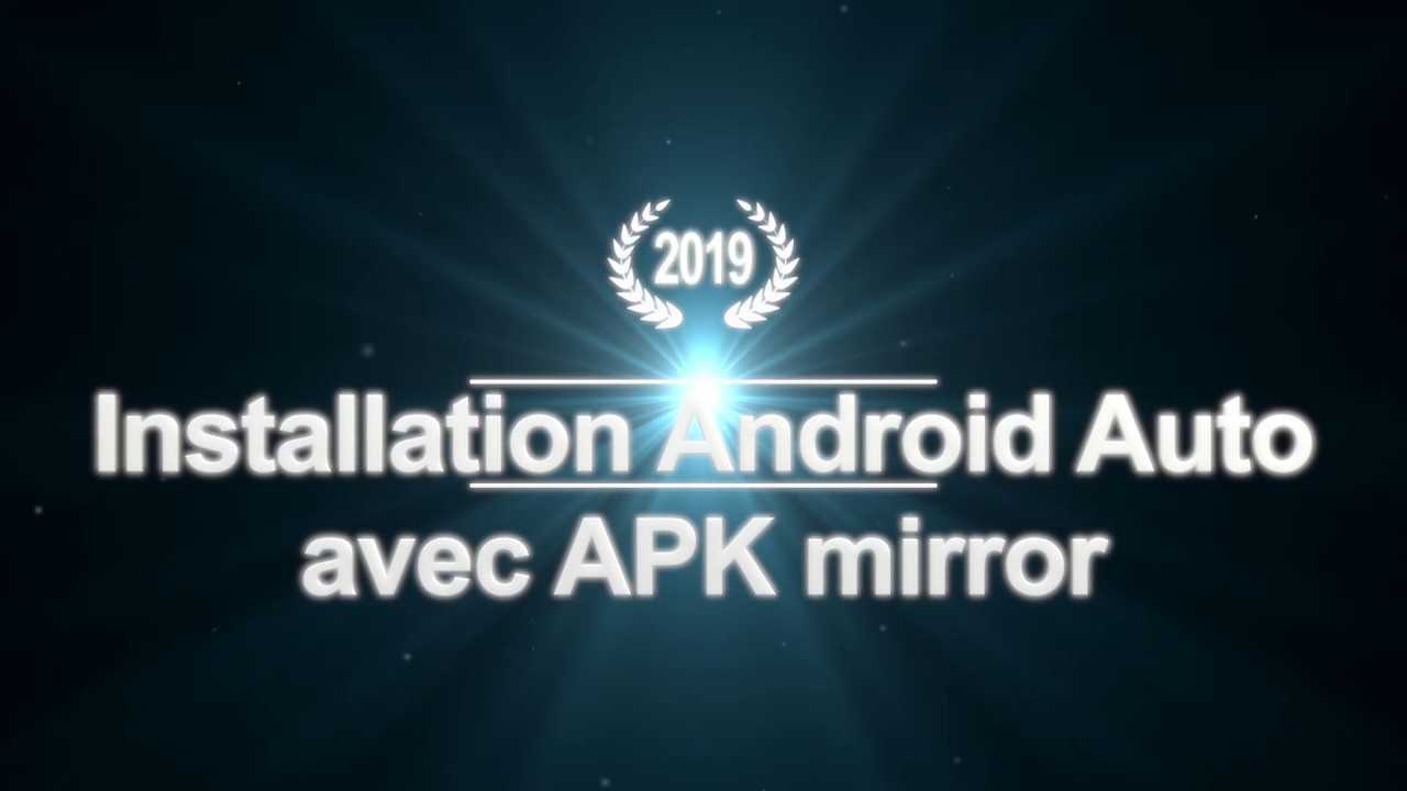 Installer Android auto avec apk mirror  #Smartphone #Android
