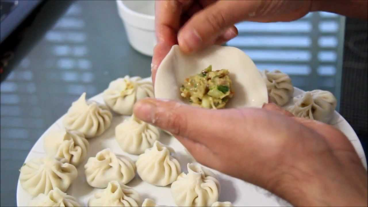 how to prepare veg momo