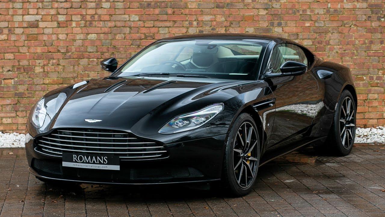 2017 Aston Martin Db11 V12 Obsidian Black Walkaround Interior Exhaust Sound Youtube