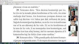 24 | La Sotesana Instruo de Ŭonbulismo | 에스페란토 원불교 대종경 공부 (zoom)