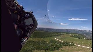 Glider Breaks Law of Gravity