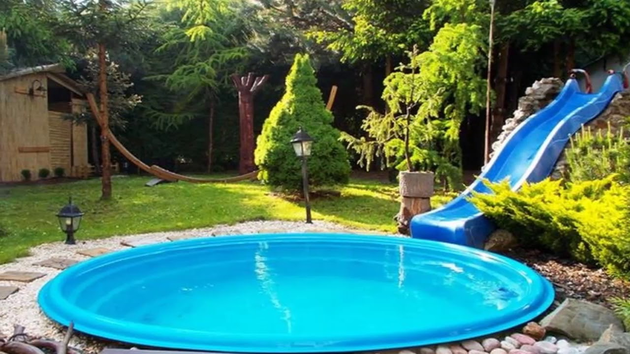 Modern Backyard Cheap Backyard Pool Ideas On A Budget ... on Small Backyard Patio Ideas On A Budget id=14103