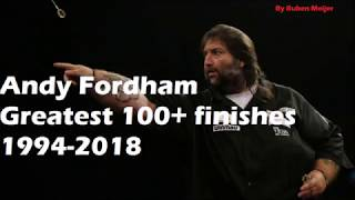 Andy Fordham - Greatest 100+ Darts Finishes 1994-2018