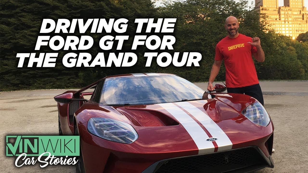 Driving a Ford GT for Clarkson in The Grand Tour