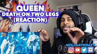 FIRST TIME hearing DEATH ON TWO LEGS - QUEEN   REACTION