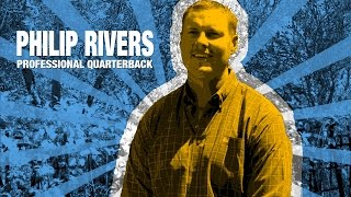 Philip Rivers about his SYNLawn putting green