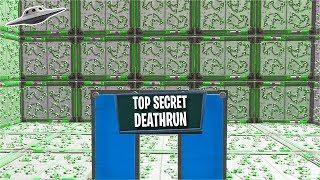 This is a * TOP SECRET * Deathrun... (Creative fortnite)