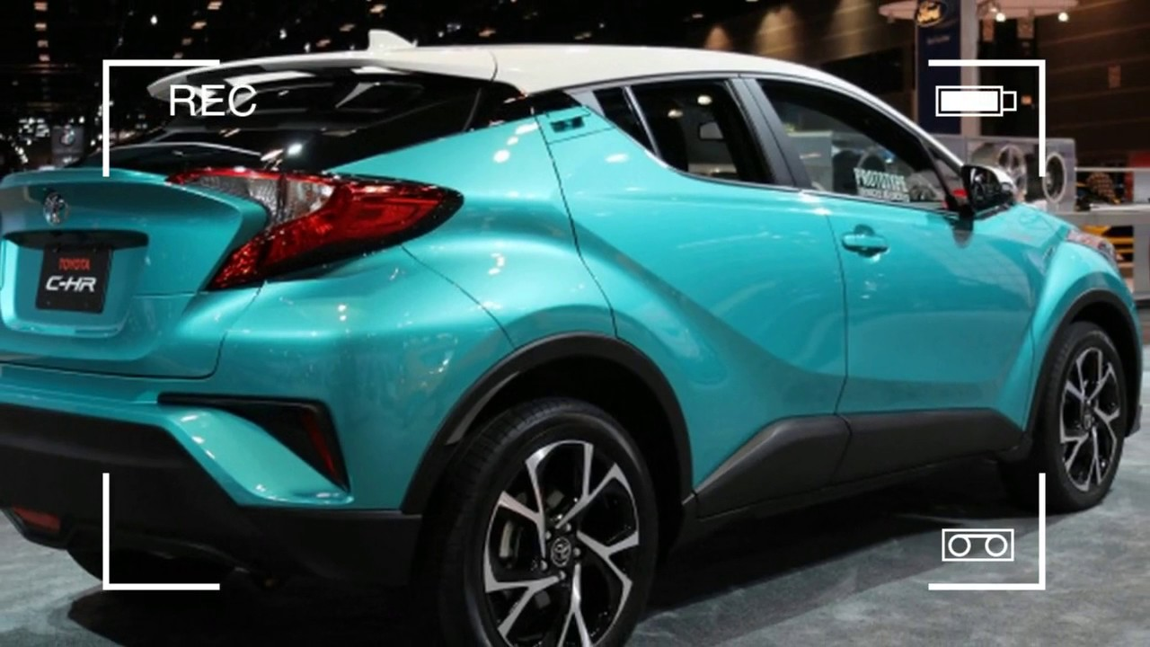 Hot News The 2018 Toyota C Hr Will Get A Contrasting Color