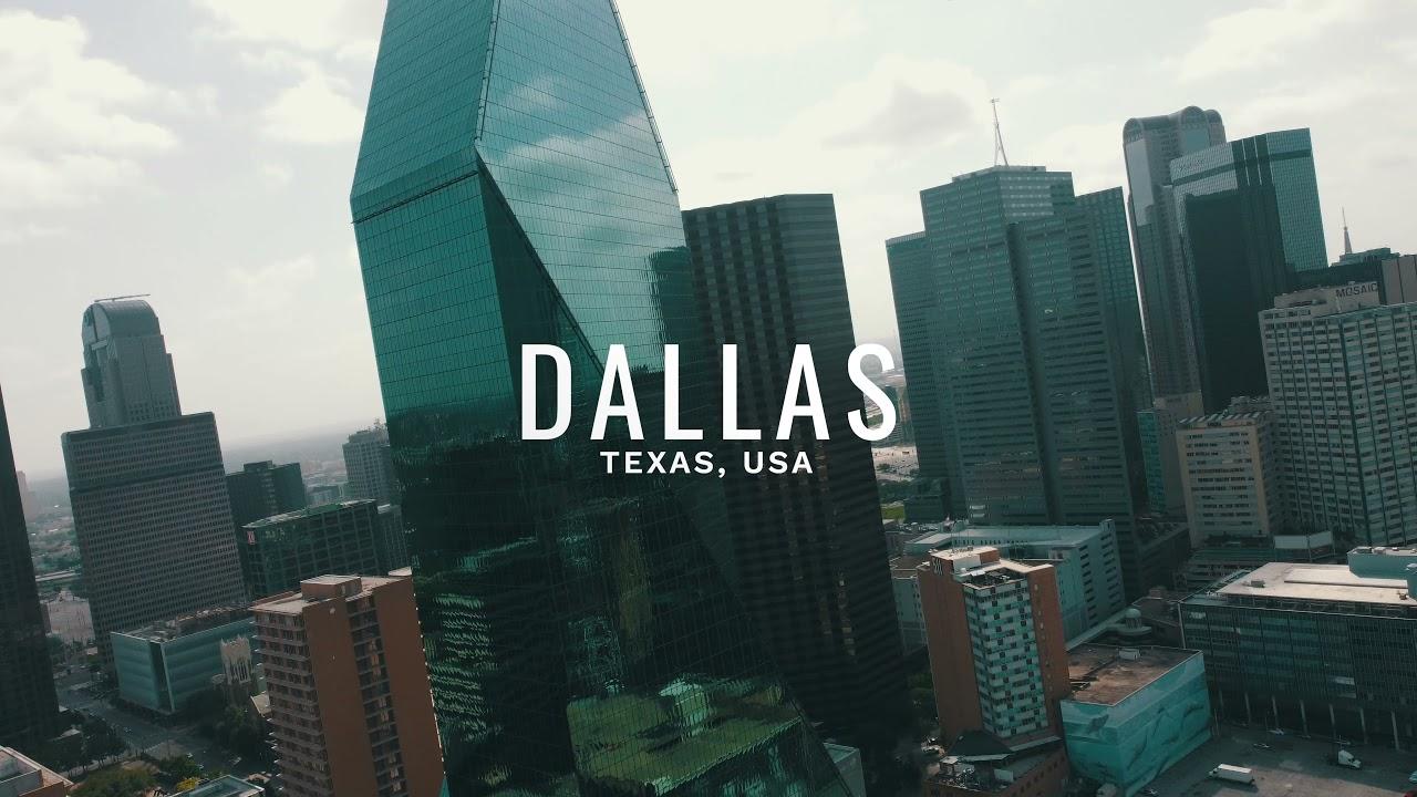 Dallas, Texas - Official Drone Video (DJI Mini 2) - 4K
